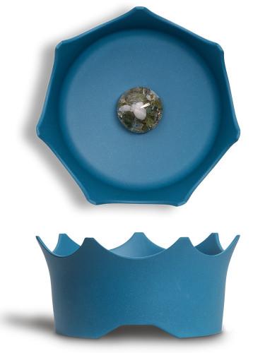 Миска для животных - голубая, фото-2