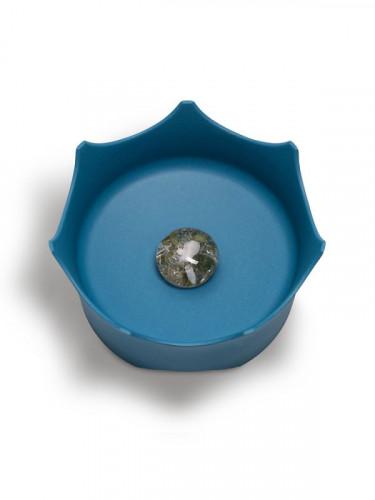Миска для животных - голубая