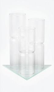 Дисплей для  3х фиалов (стекла)