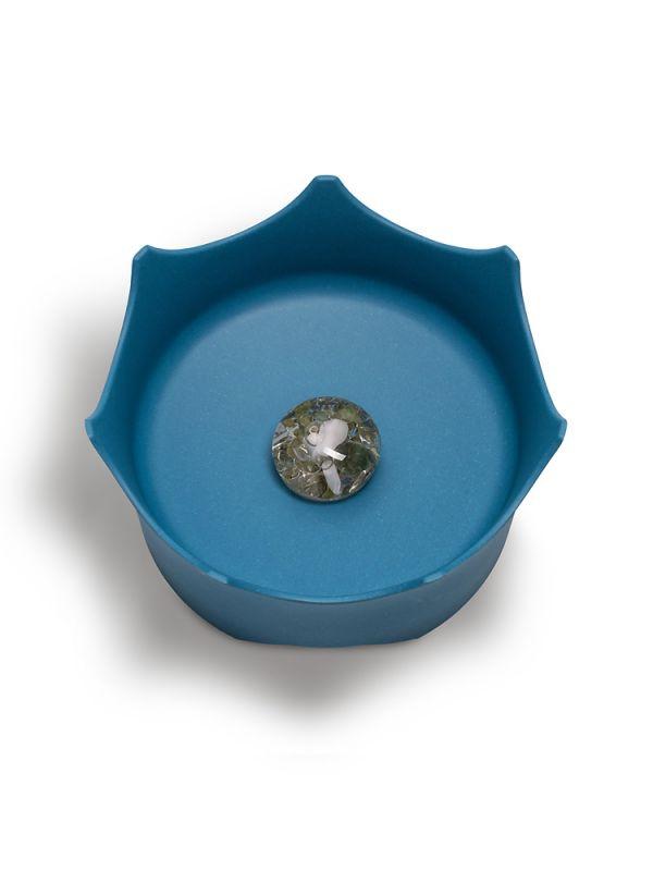 Миска для тварин - блакитна